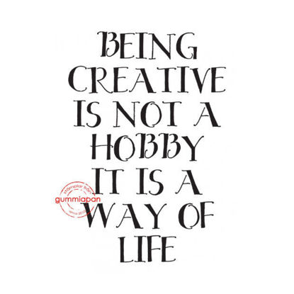 being creative....