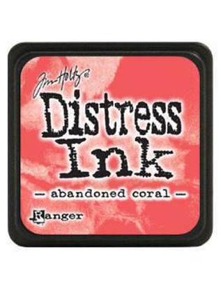 Picture of abandoned coral - Distress ink