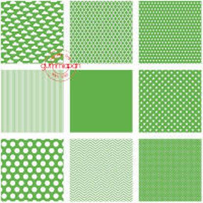 Bright green series
