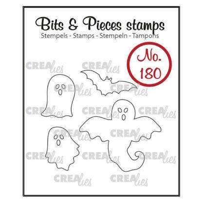 Afbeeldingen van Spookjes en vleermuis (omlijning) - Bits & Pieces