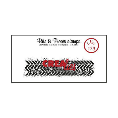 Picture of Grunge Zigzag (Oblong) - Bits & Pieces