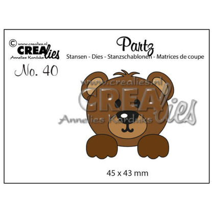 Picture of Bear - Partzz die-cutting