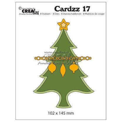 Afbeeldingen van Kerstboom (kaartformaat) - Cardzz stansen