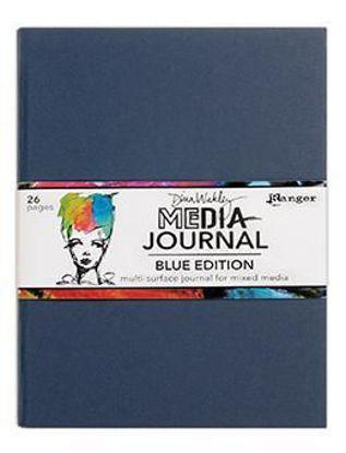 Afbeeldingen van Dina Wakley Media Journal Blue Edition