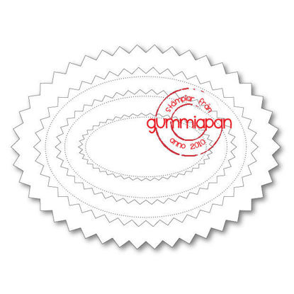 Afbeeldingen van Chevron Oval - stans