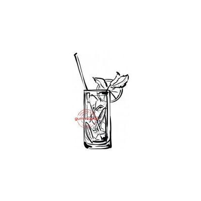 Afbeeldingen van Kleine Mojito - stempel (normaal €2,00)