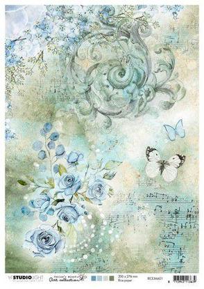 Afbeeldingen van Jenine's Mindful rice paper nr 01