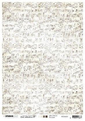 Afbeeldingen van Jenine's Mindful rice paper nr 05