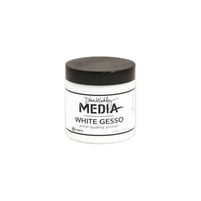 Dina Wakley Media Gesso White