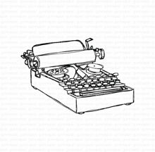 Doodled Typewriter