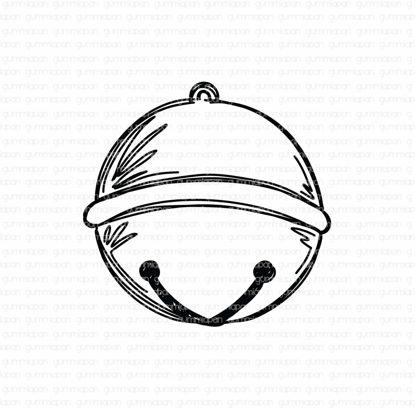 Doodled Medium Bell