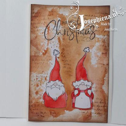 Kaart: Christmas Gnomes