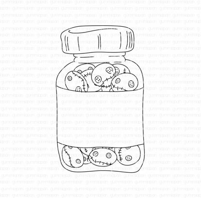 Lennart in a jar