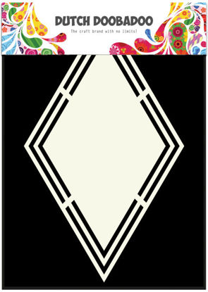 Dutch Shape Art Rhombus A5