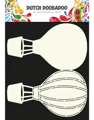 Dutch Fold Card Art A4 Airballoon