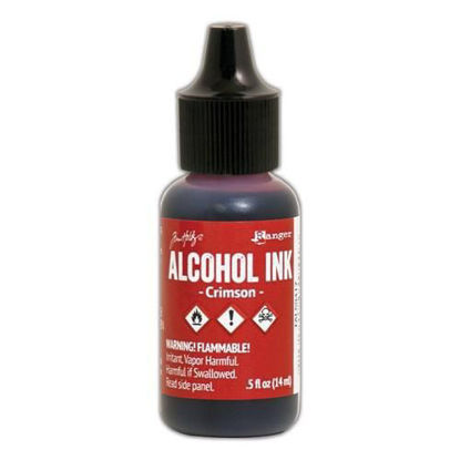 Tim Holtz Alcohol Ink Crimson