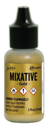 Tim Holtz Mixative Gold