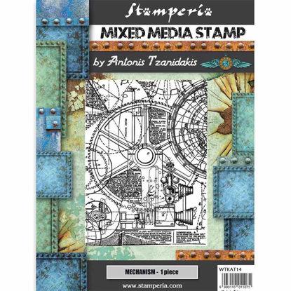 Stamperia Mixed Media Stamp Sir Vagabond Mechanism