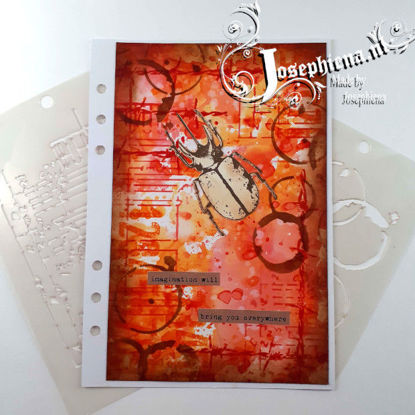 Art Journal: Imagination gemaakt door Josephiena