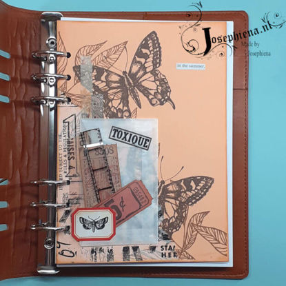 Art journal: in the summer gemaakt door Josephiena