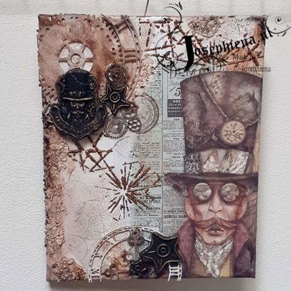 Canvas: Sir Vagabond gemaakt door Josephiena