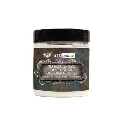 Finnabair Art Basics 3D Matte Gel (250ml)