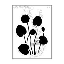 Waterlelie - Stencil van Josephiena`s Design