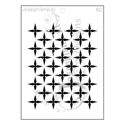 Patroon 82 - Stencil van Josephiena`s Design