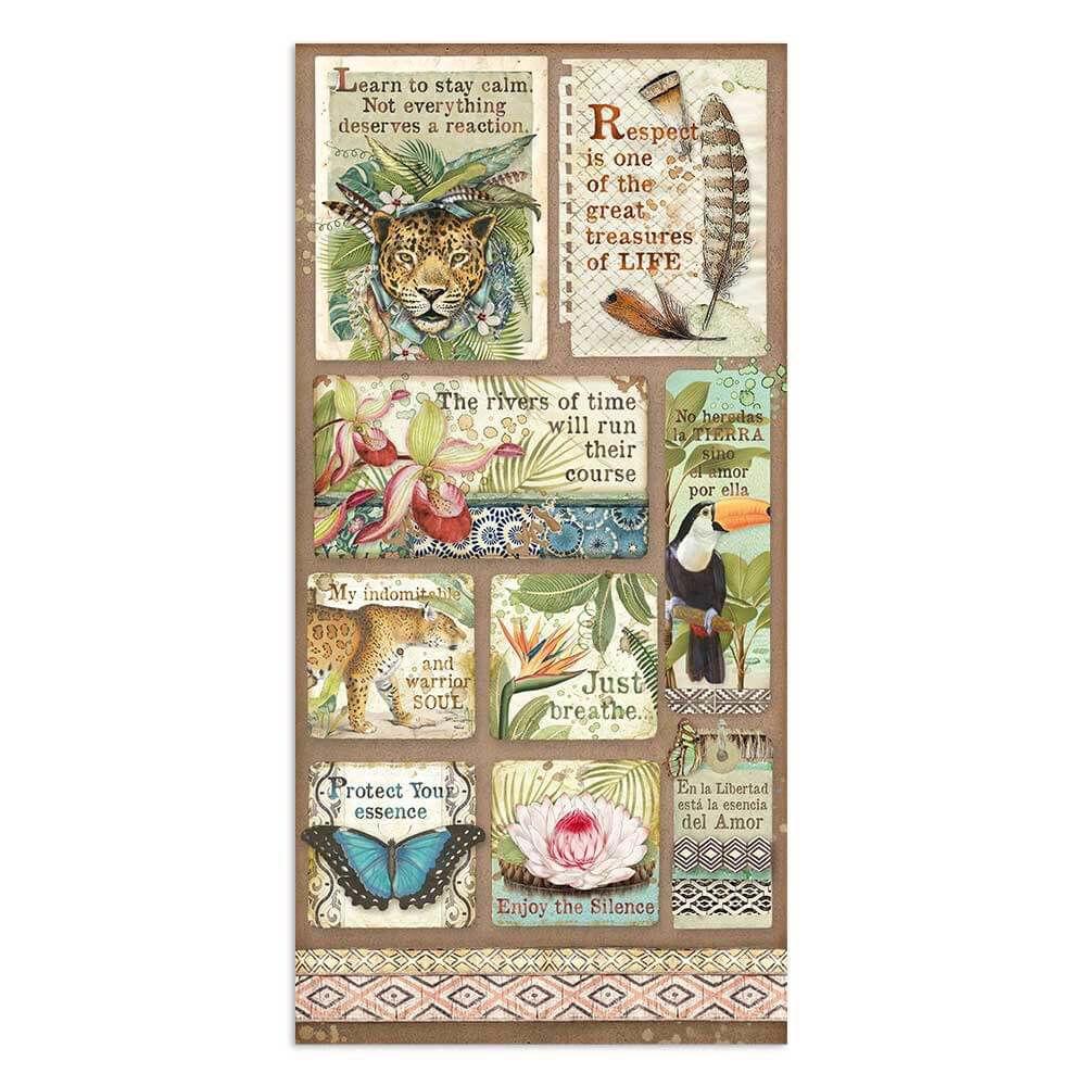 Stamperia Amazonia 6x12 Inch Paper Pack