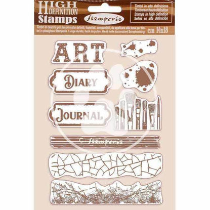 Stamperia Natural Rubber Stamp Art