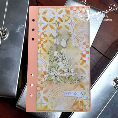 Art journal: Happy Easter gemaakt door Josephiena