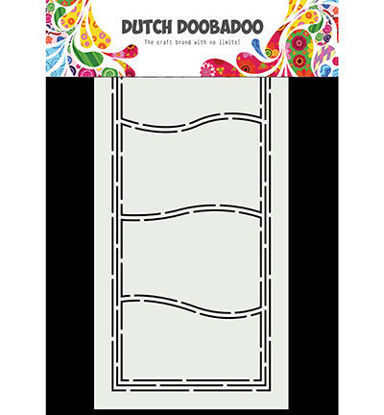Dutch Doobadoo Card Art Slimline Waves