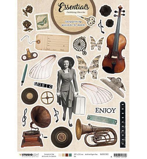 Cutting Sheet Essentials By Jolanda de Ronde nr.2