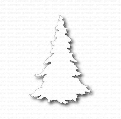 Picture of kerstboom - stansen - Gummiapan