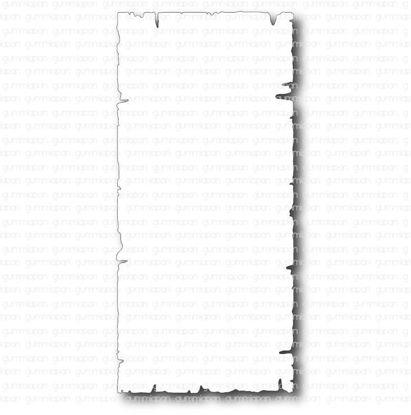 Afbeeldingen van Oude rechthoek voor de SlimLine-kaart van Gummiapan