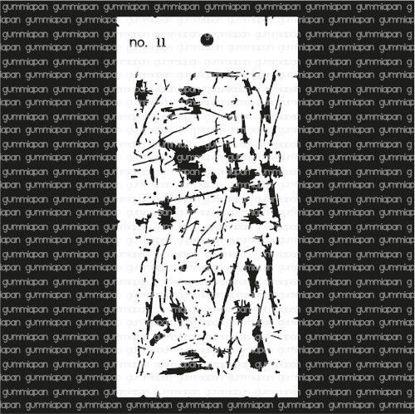 Afbeeldingen van No. 11 - stencil - Gummiapan