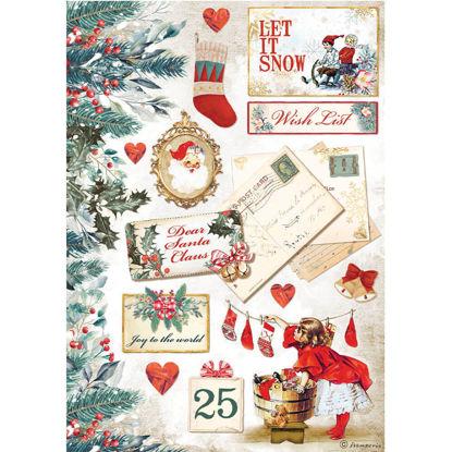 Romantic Christmas Let it Snow Cards