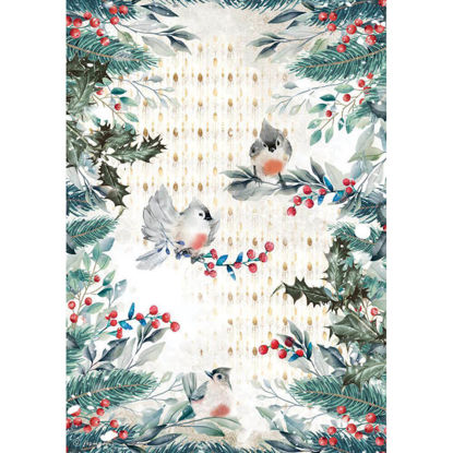 Romantic Christmas Birds