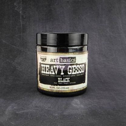 Finnabair Art Basics Heavy Gesso Black (250ml)